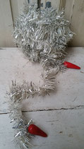 Oude kerst tinsel