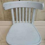 Café stoel ijsblauw