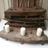 Robuust houten plateau