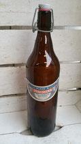 Fles met etiket