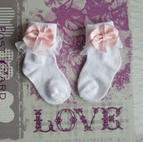 Socken mit Schleifen oder mit Rosen Farbe nach wunsch  Artikelnummer 002541-000x000