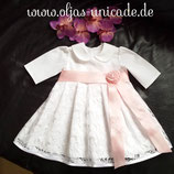 Neu Taufkleid Mädchen Kleid mit Braut-spitze 56-98   Artikelnummer 0025467245-XxX-99