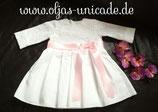 Neu Taufkleid Mädchen Kleid mit Braut-spitze 56-104  Artikelnummer 0025467245-B3