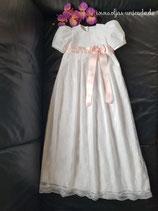 Taufkleid Elisabeth  100% Baumwolle mit Braut-Spitze Artikelnummer 0025467245-OP-01