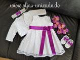 Neu Taufkleid Mädchen Kleid mit Edle-spitze Artikelnummer 0025467245-XX07