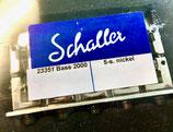 Schaller Bass-Steg 2000 5-saiter, nickel