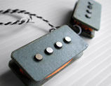 Nordstrand np4-a3 Bass-Pickup 4-Saiter, P-Style Replacement Tonabnehmer mit Alnico3 Magneten