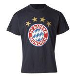FC Bayern T-Shirt Logo Gr.104 Farbe navy