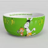 Äffle & Pferdle Tasse od. Müslischale in versch. Farben Kaffeebecher schwäbische Kultserie