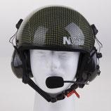 Kevlar-Carbon Design ohne Visier und Headset