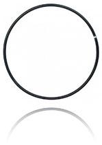 Aerial Hoop 0 Punkt schwarz