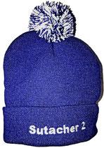Wollmütze blau
