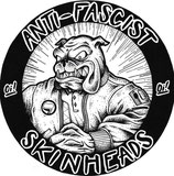 Anti-Fascist Skinhead - Aufkleber [20 Stück]