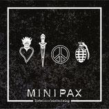 """Minipax - LiebeHassFriedenKrieg - 12"""" + MP3"""
