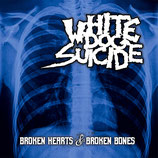 "White Dog Suicide - Broken Hearts & Broken Bones - 12"" + MP3"