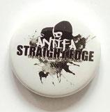 Straight Edge Antifa - Button