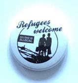 Refugees Welcome - Soli Button