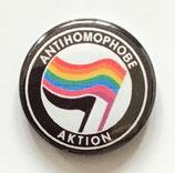 Antihomophobe Aktion - Button