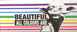 Beautiful All Colours Are - Aufkleber [15 Stück]