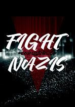 Fight Nazis - Aufkleber