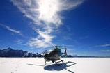 30 Min. Rundflug Eiger - Mönch - Jungfraujoch inkl. Gletscherlandung