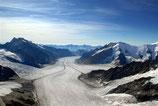 110 Min. Rundflug Jungfraujoch