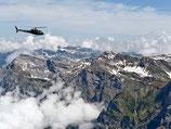 Samedan / St. Moritz - 45 Min. Rundflug für 5 Personen