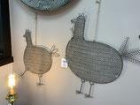 Les jolies cocottes 2 tailles petite : 12€ grande : 15€ décoration jardin d'Ulysse
