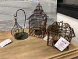 Cages photophores jardin d'Ulysse