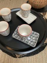 Petit plat rectangulaire jardin d'Ulysse un accessoire complémentaire des mugs