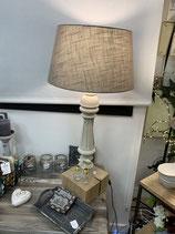 lampe balustre et chêne modele unique  création samedi le relooking VENDUE