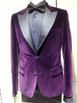 Lordfools Samt-Blazer Farbe lila