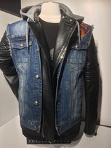 "Philipp Plein Jeans-Weste ""DEER"" P17CMDC0006 PDE020N"