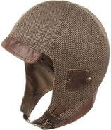 Stetson Mütze aus Cotton/Silk  Fischgradmuster 9342501/367