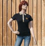 Glööckler T-Shirt, schwarz-tiger print, Glööckler Polo Shirt XS