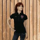 Equi Théme Polo Shirt, Kurzarm Shirt, schwarz