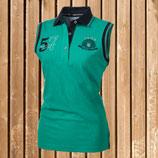 Pikeur Damen T-Shirt Fiona, Pikeur ärmelloses Polo Shirt, Pikeur Poloshirt