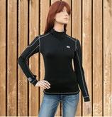 Funktionsshirt Priya Euro Star, Unterziehshirt schwarz