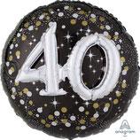 XXL 40 Geburtstag (3D Effekt) von Anagram