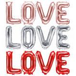 LOVE Schriftzug 35 cm x 140 cm
