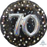 XXL 70 Geburtstag (3D Effekt) von Anagram