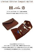 Crh-170【イタリアンレザー】コンパクトウォレット/革キチ別注モデル