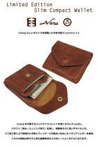 Crh-170 SLIM【イタリアンレザー】コンパクトスリムウォレット/革キチ別注モデル