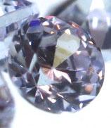 Zirkonia Lavendel Rund 2 mm