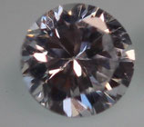 Zirkonia Klar 4,5 mm, Rund