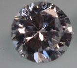 Zirkonia Klar, 2,5 mm, rund