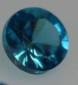 Zirkonia Türkis rund 2 mm
