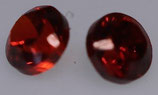 Zirkonia Rot Rund 2 mm