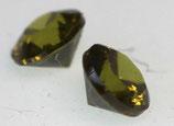 Zirkonia Olive Rund 2 mm