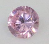 Zirkonia Pink Rund 2 mm